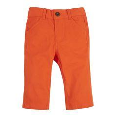Andy & Evan - Boys' Blood Orange Twill Pants #andyandevan #kidsfashion #shophenryandlola