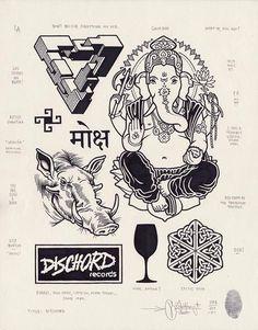 Mike Giant – Modern Hieroglyphics - Dischord