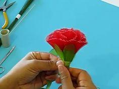 How to Make Flos Citri Sarcodactylis Flower (Fo Shou Flower) - YouTube