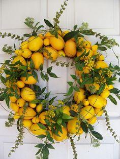 Lemons and greens..a