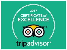We are extremely pleased to announce that we have been awarded a CERTIFICATE OF EXCELLENCE 2017 ( #TripAdvisor #CertificateofExcellence) ...