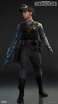 The Rebel Specialist is the Specialist class for the Rebel Alliance in DICE's Star Wars Battlefront II. Star Wars Characters Pictures, Sci Fi Characters, Star Wars Rebellen, Overwatch, Edge Of The Empire, Art Et Design, Tribal Warrior, Galactic Republic, Star Wars Concept Art