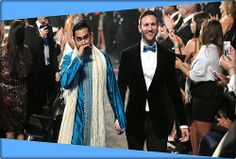 "LOS ANGELES -- Couples exchanged rings in the aisle at the Grammy Awards on Sunday night as Macklemore & Ryan Lewis performed their gay rights anthem ""Same Love. Lgbt Love, Same Love, Interracial Couples, Lesbian Couples, Lesbian Wedding, Cool Street Fashion, Street Style, Gay Couple, New York Fashion"