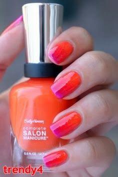 Orange and Purple Design