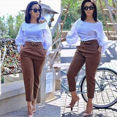 2019 Beautiful Casual Work Inspirations for Women casual work outfits casual work outfit. Formal Casual Outfits, Casual Work Attire, Classy Work Outfits, Business Casual Attire, Classy Casual, Office Outfits, Chic Outfits, Fashion Outfits, Business Chic