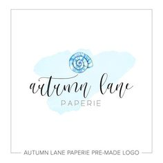 Logo Design  Business Logo  Nature Logo  Seashell Logo