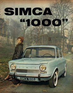 The Simca 1000 was a car produced from 1961 to 1978 by the automaker . - The Simca 1000 was a car produced from 1961 to 1978 by the French automaker SIMCA. Psa Peugeot Citroen, Nostalgia, Classic Car Restoration, Car Pictures, Photos, Ford Classic Cars, Car Posters, Commercial Vehicle, Vintage Trucks