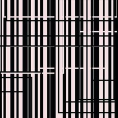 ''Geometric Series ''  Geometric design with light pink and black color. #laconniecreations #laconnieart #artist #art #geometric #pink #black #lines