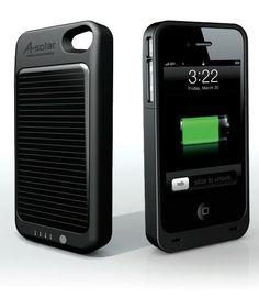 A-Solar iPhone 4S Power Pack Akku-Case