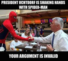 Spiderman Elder Uchtdorf awesome invalid arugument
