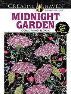 Creative Haven Midnight Garden Coloring Book - Boylan Lindsey | Public βιβλία
