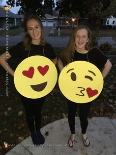 Easy, Quick Emoji Costume for All Ages