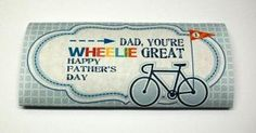 Wrap Dad's favorite candy bar for an extra sweet treat on Father's Day!
