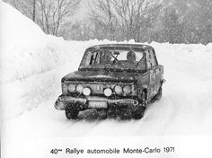 Fiat 125p 40. Rajd Monte Carlo - Archiwum internetowe Błażeja Krupy
