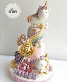 Las tortas más bonitas y originales de unicornios | Tarjetas Imprimibles