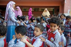 Egyptians begin to take back their clunker classrooms
