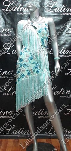 LATIN RHYTHM SALSA BALLROOM COMPETITION DANCE DRESS - SIZE S, M, L (VL436) #Fashion #Style #Deal