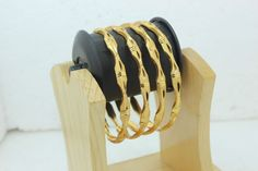 Indian Bollywood Bridal Collection Bangle/Bracelets Gold Plated 2.8 Size #BDFJewellery
