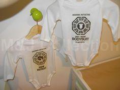 """Lost"" Themed Baby Nursery"