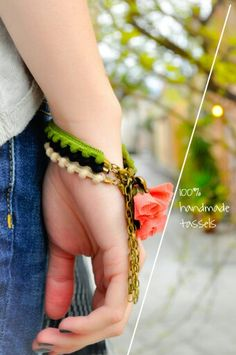 100% handmade tassels | ◆PcU◆ Nespresso, Jewelry Collection, Tassels, Clay, Jewels, Bracelets, Handmade, Bangle Bracelets, Hand Made