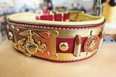 USMC dog collar - Oli Collars