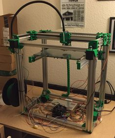 D-Bot Core-XY 3D Printer by spauda01.