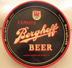 Berghoff Beer  serving tray