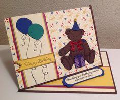 Birthday card for Trevor 2015