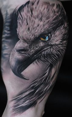 eagle on the mans arm. - Tattoos -Realistic eagle on the mans arm. - Tattoos - Get best ringtones and ASMR wallpapers for your iPhone! Eagle tattoo for men Patriotische Tattoos, Best Sleeve Tattoos, Trendy Tattoos, Forearm Tattoos, Body Art Tattoos, Cool Tattoos, Wing Tattoos, Badass Tattoos, Celtic Tattoos