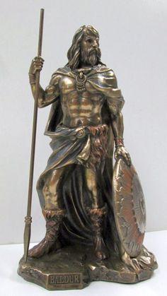 Baldur Baldr Baldar Celtic God of Love and Light Statue Pagan Gods, Pagan Witch, Celtic Pride, Celtic Art, Irish Mythology, Legends And Myths, Paganism, Ancient Artifacts, Gods And Goddesses