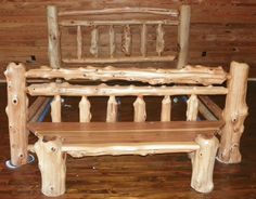don't know when but someday will have my very own log bed <3