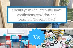 Should year 1 children still have continuous provision and Learning Through Play? Primary Education, Education System, Primary School, Eyfs Activities, Learning Activities, Outdoor Activities, Play Based Learning, Learning Through Play, Continuous Provision Year 1