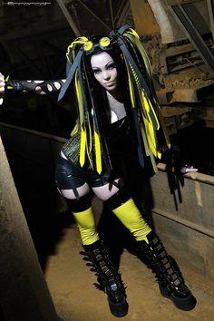 This website was built for Gothic fashion lovers everywhere…… Cyberpunk Girl, Cyberpunk Fashion, Industrial Goth, Estilo Dark, Goth Subculture, Gothic Boots, Grunge, Look Man, Goth Beauty