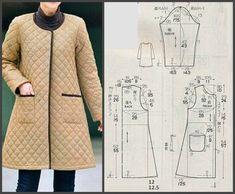 Sewing patterns coat patterns jacket patterns bolero pattern skirt patterns blazer pattern sewing tutorials sewing e book – ArtofitNo photo description available. Sewing Coat, Sewing Clothes, Diy Clothes, Coat Patterns, Dress Sewing Patterns, Clothing Patterns, Blazer Pattern, Jacket Pattern, Bolero Pattern
