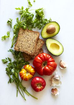 Grilled Heirloom Toast with Avocado Chimichurri (gluten-free, vegan) — Sassy Kitchen