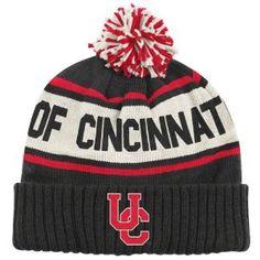 love this bearcats hat. Cincinnati Bearcats, University Of Cincinnati, Ohio State Baby, Football Is Life, Birthday List, Adidas Originals, Knitted Hats, Merry Christmas, Soccer