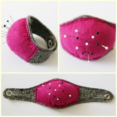 DIY ~ Wrist Pincushion: Sweet Inspiration!