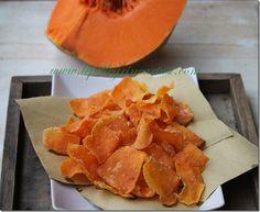 Le pellegrine Artusi: Chips di zucca piccante