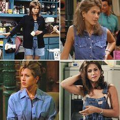 Uma das tendências dos anos 90 que voltou com tudo nessa estação foi a combinação de jeans com jeans! Que tal algumas inspirações de como compor um look nesse estilo? ❤