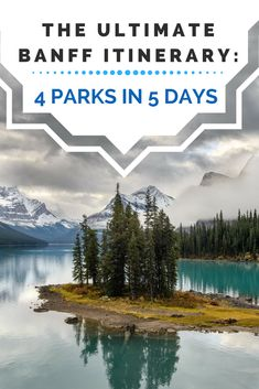 The perfect Banff itinerary with stops at Lake Louise, Lake Moraine, Jasper National Park, and Yoho National Park. See the Canadian Rockies on this epic road trip you'll be talking about for years to come! #travel #adventuretravel #canada #banffnationalpark #canadatravel