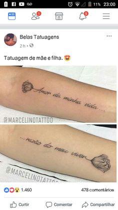 Tatuagem Creative Nail Designs, Creative Nails, Love Tattoos, Tatoos, Piercing, Tattoos With Meaning, Skin Art, Tattoo Quotes, Ink
