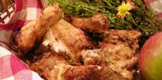 Marinate the chicken overnight. Comes together quickly for dinner, but doubles the next day cold for lunch. Serve with 'slaw and biscuits. Chicken Recipes Food Network, Fried Chicken Recipes, Chicken Milk, Buttermilk Fried Chicken, Food Network Canada, Fries, Biscuits, Lunch, Cold