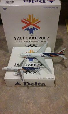 Gemini Jets Delta Salt Lake City 777 & 757 1:400
