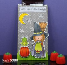 Studio 5380 Witch Way is the Candy? #mftstamps