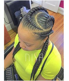 African Braids Hairstyles, Girl Hairstyles, Braided Hairstyles, Love Hair, Great Hair, Twisted Hair, Natural Hair Styles, Short Hair Styles, Beautiful Braids
