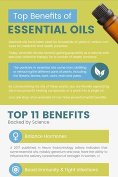 Click here to learn about the top 11 benefits of using essential oils!