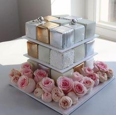 Mini Cake Stand, Special Birthday Cakes, Beautiful Wedding Cakes, Bakeries, Mini Cakes, Weeding, Food Photo, Decorative Boxes, Soap