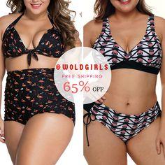 ce823364e8 Buy Cheap Plus Size Swimwear | Bikinis & High-Waisted Swimsuits -WoldGirls