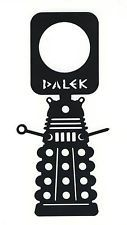 Doctor Who DALEK Door Knob Hanger Thick Plastic Sign Dr. Who Do Not Disturb