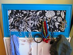 Love Sweet Love: Picture Frame Jewelry Organizer